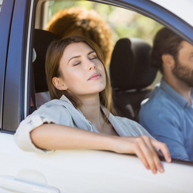 W samochodzie i podróży