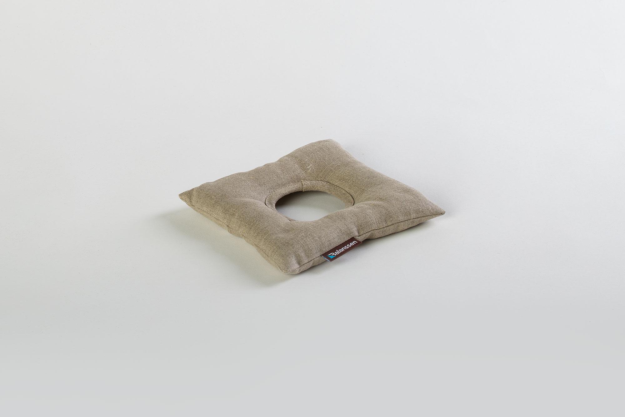 Poduszka gryczana ElbowPro len