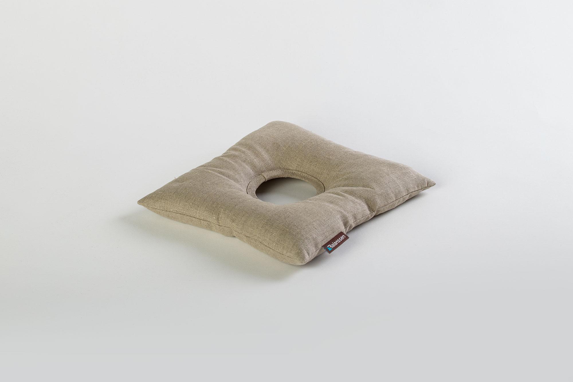 Poduszka gryczana FootPro len