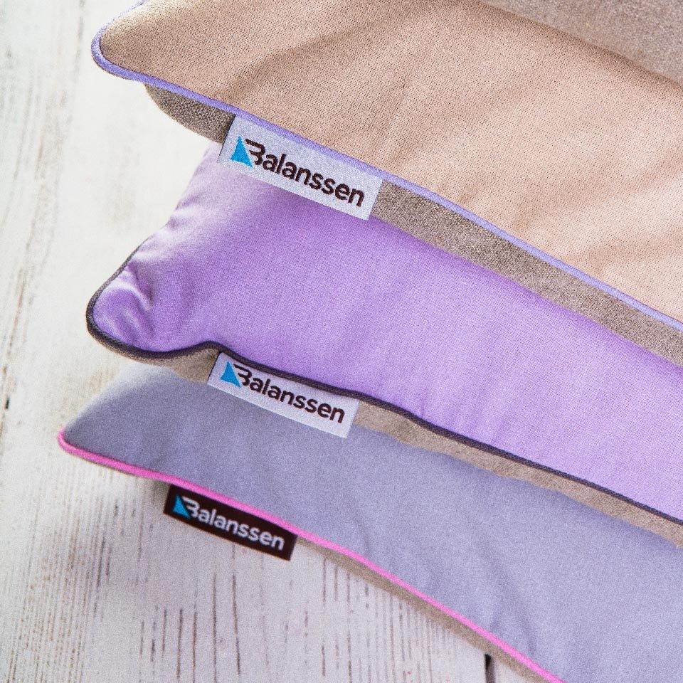 Poduszki z ekologicznym wypełnieniem Balansen