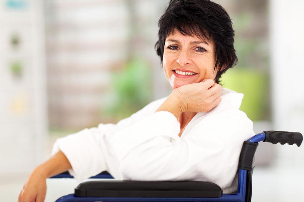 Komfort siedzenia na wózku